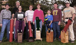 A group of new amateur telescope makers