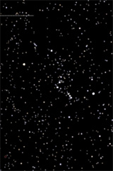 The Orion Constellation as seen in a dark sky setting